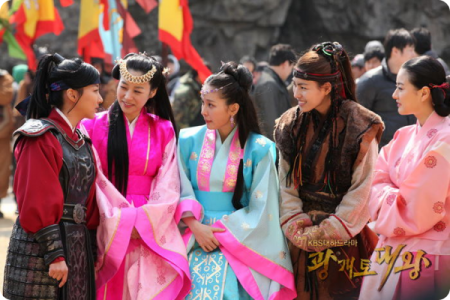 The women from the great king gwanggaeto drama