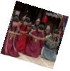 Tied Northern Wei envoys in kneeling postion