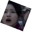 Doyeong's face expression as an arrow pierces her abdomen
