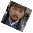Houyan envoy Ko Un stares directly at Damdeok with a serious look